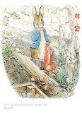 Peter let the handkerchief go again...by Beatrix Potter