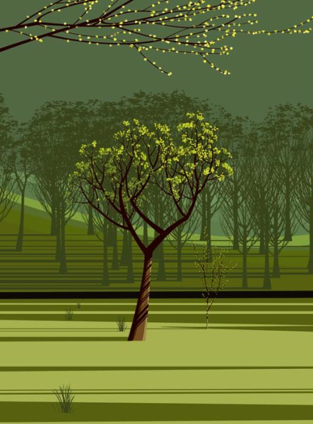 """Spring Poplar"" by Dan Crisp"