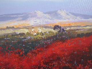 an original painting by John Horsewell