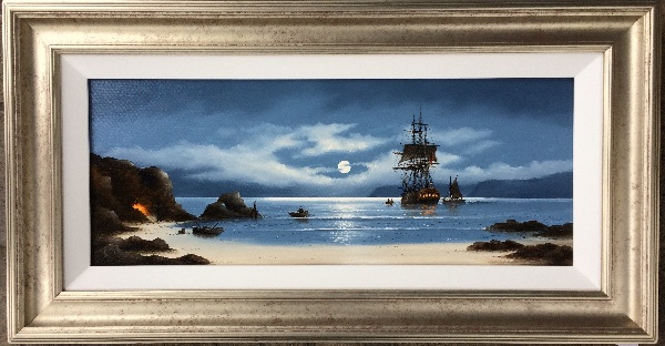 An original painting by Alex Hill