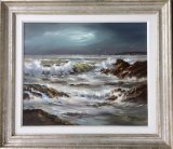 An original painting by Alan Morgan