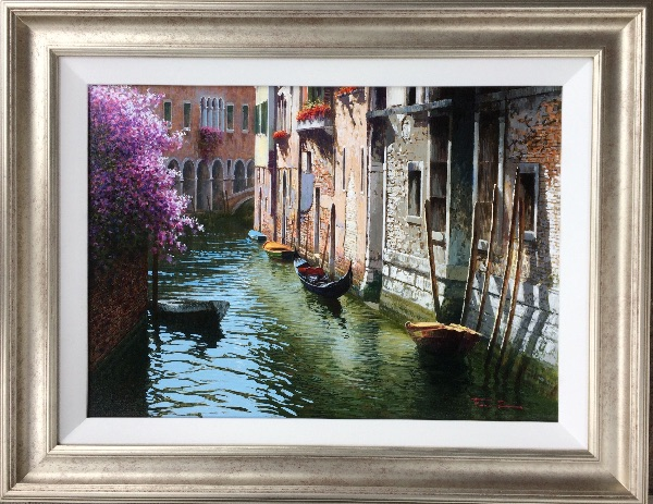 An original painting by Raphael Fiore