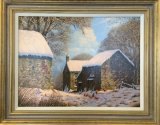 An original painting by Edward Hersey