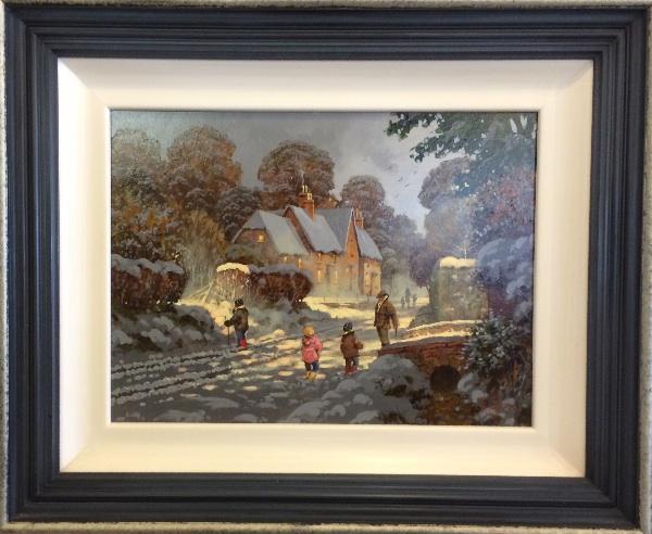 An original painting by Richard Telford