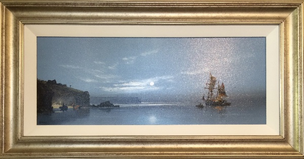An original painting by Les Spence