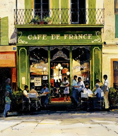'Cafe de France' by Jeremy Barlow