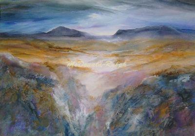 Mauve Hills by Gillian McDonald