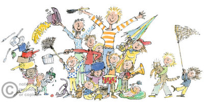 'All join in'  by Quentin Blake