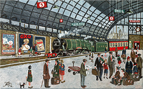 'The Flying Scotsman' by Alan Tortice