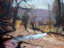"Spring. River Lemon. Dartmoor. 14""x18"""