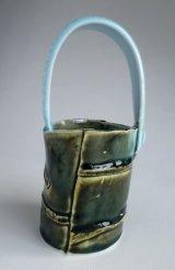 Small Oke Vase 3 (green)
