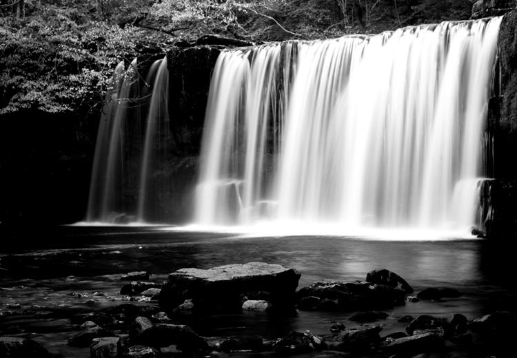 Waterfall in Breacon Beacons.