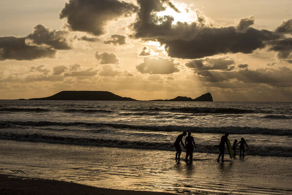 Worms Head (Gower) view