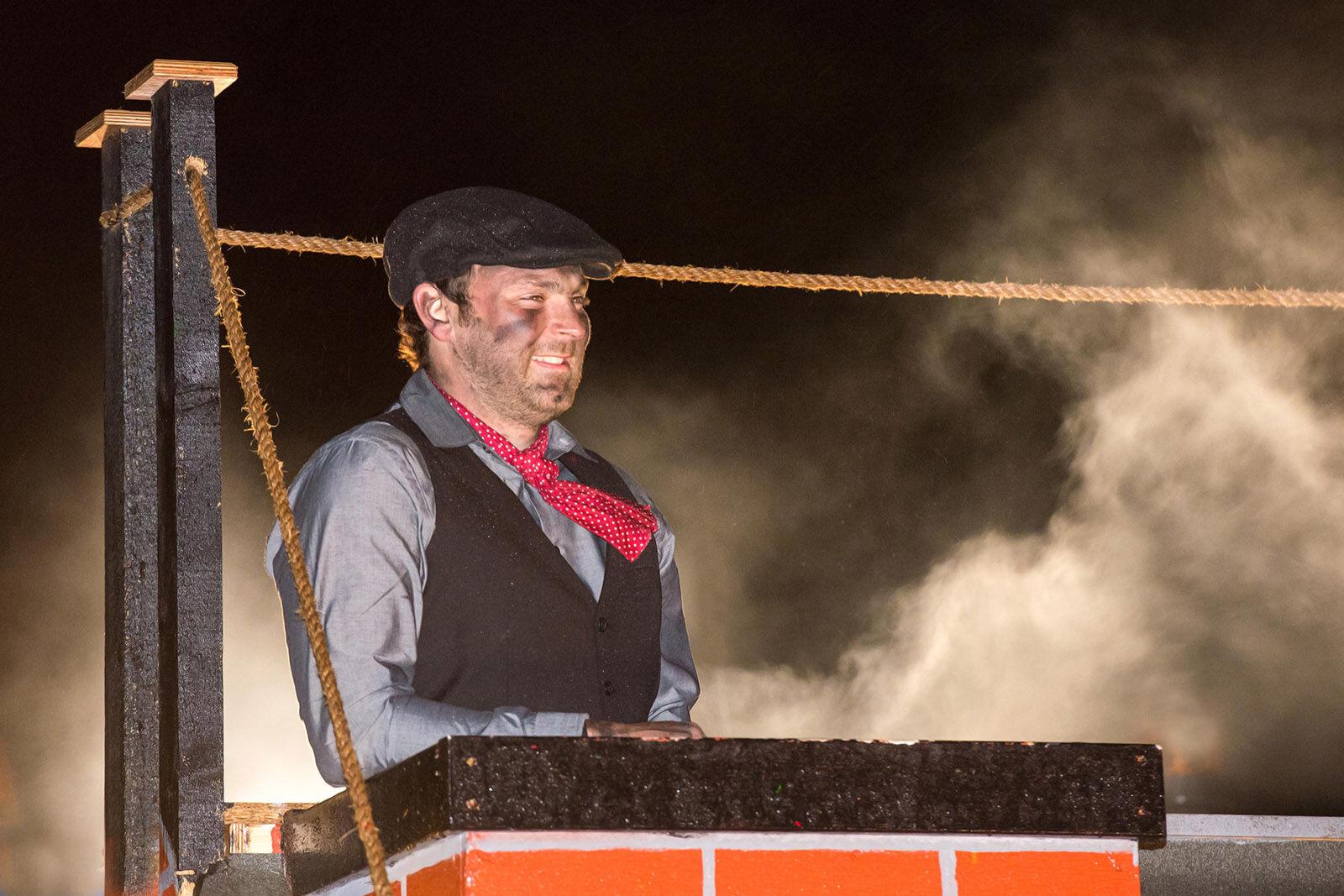 Hatherleigh carnival chimney sweep