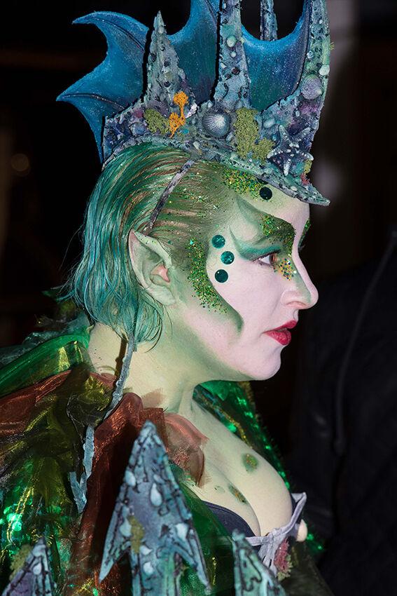 Carnival mermaid.