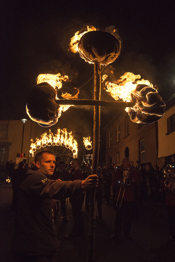 Torch bearer (Hatherleigh).