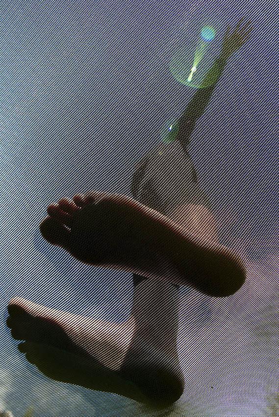 Trampoline feet.