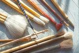 Pottery glazing Brushes
