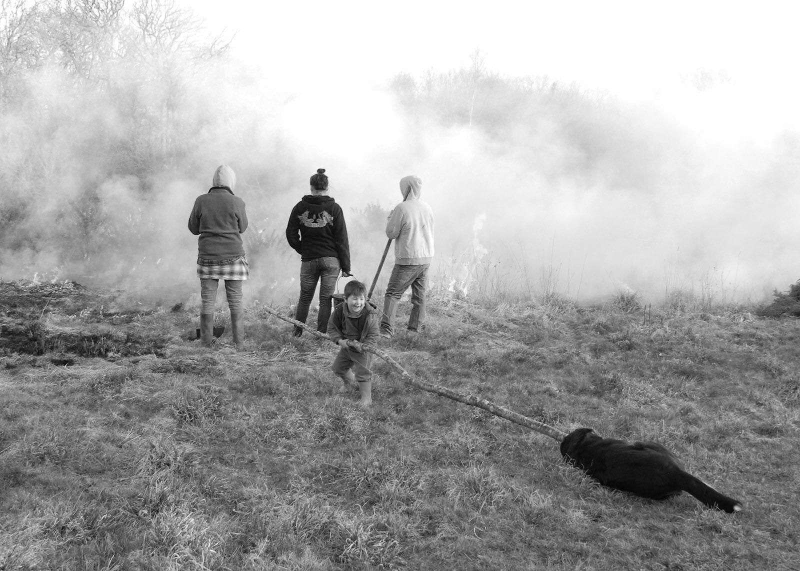 Farming family burn-up