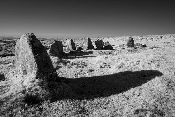 Nine maidens. Dartmoor