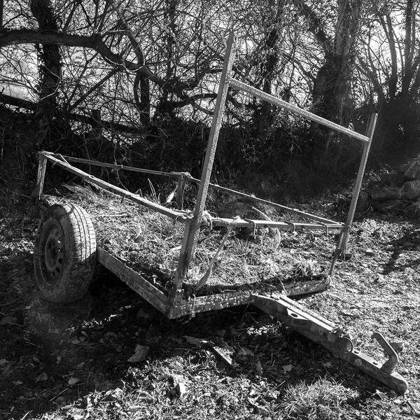 Decaying trailer.