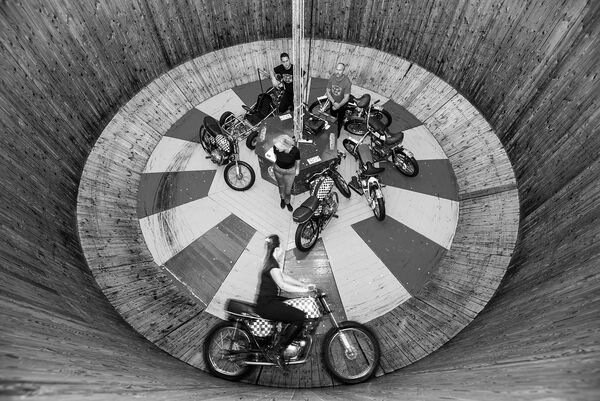 Ken Fox's wall of death