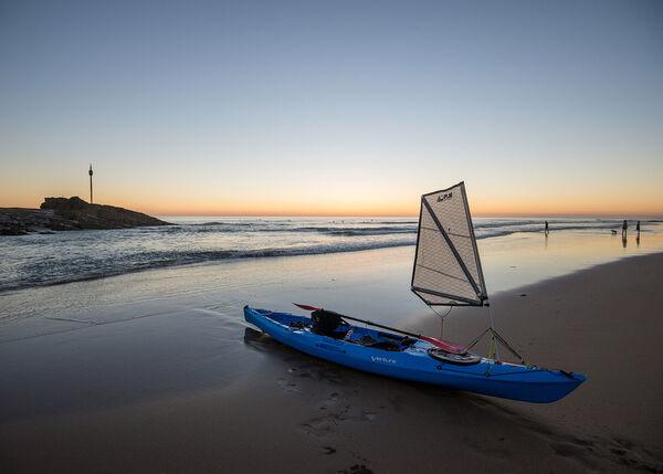 Tranquility on Summerleaze beach, Bude, Cornwall.