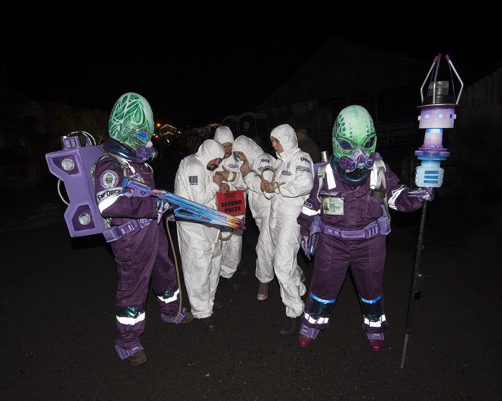 Carnival walking float