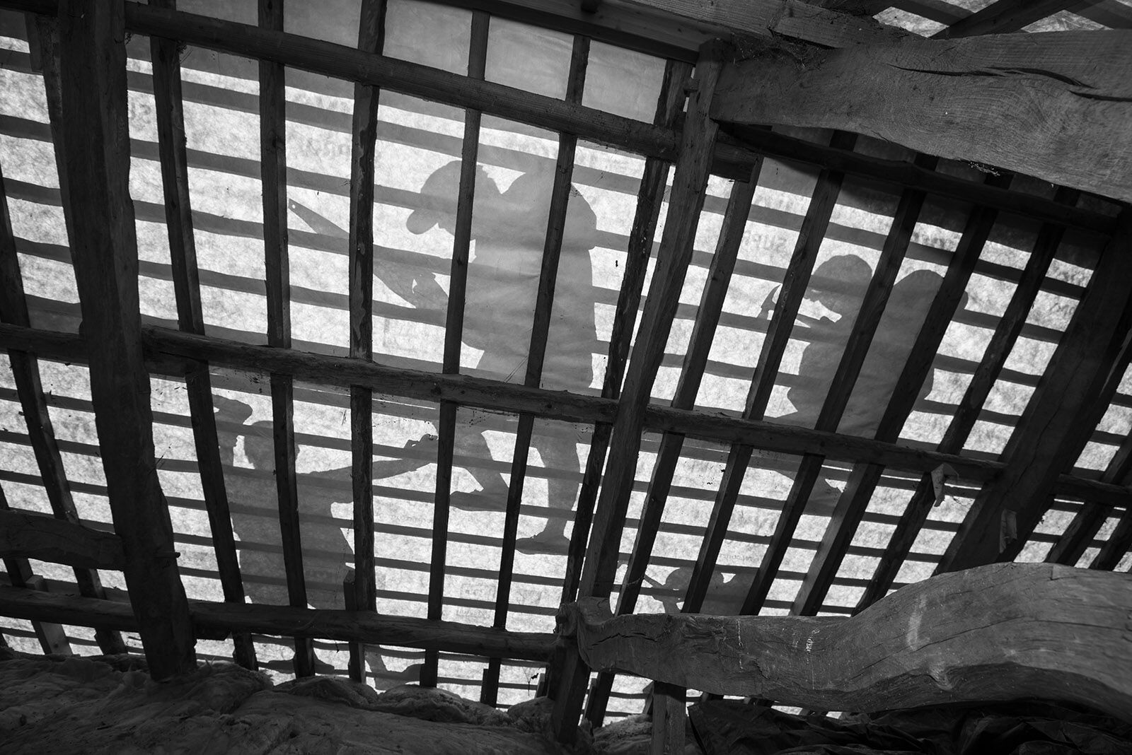Roofer's silhouettes 2