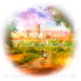 Landscape Noon - Durham City
