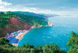 Red Cliffs at Oddicombe - Torquay