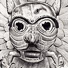 The Sanctuary Knocker - Pencil drawing