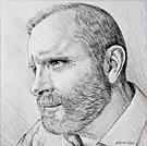 Self-Portrait - Pencil drawing