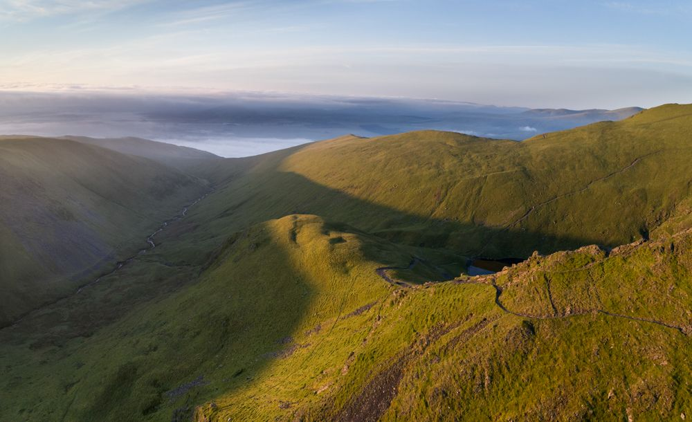 Sharp Edge, Blencathra at sunrise