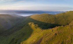 Sharp Edge, Blencathra at sunrise