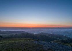 Sunrise over Blencathra