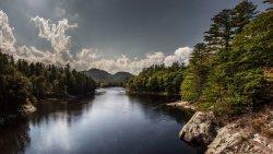 New England lake