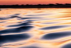 Sunset on the Chobe River, Botswana / Namibia border.