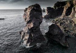Rock Stacks on Lewis, Scotland