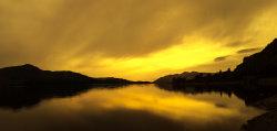 Sunset at Derwentwater