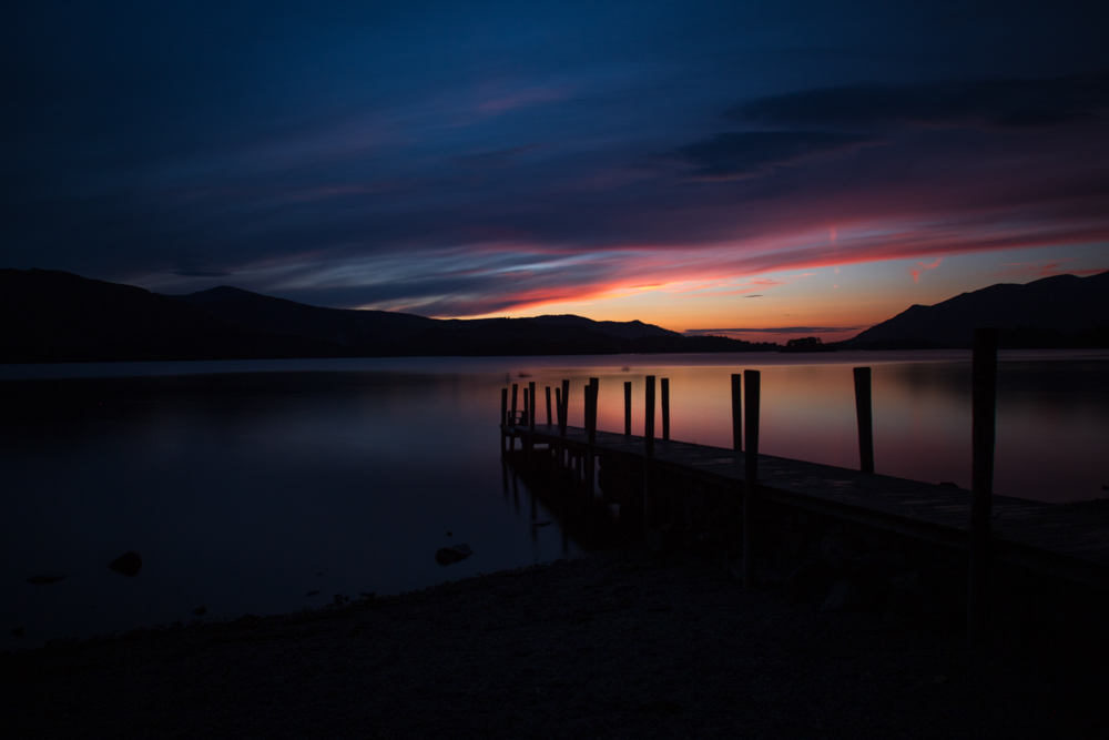 Sunset at Ashness Gate, Derwentwater