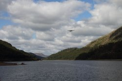 Lancasters over Thirlmere