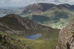 View from Buttermere Fells and Red Pike
