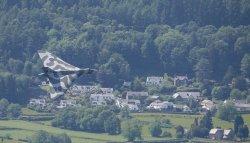 Vulcan over Thornethwaite