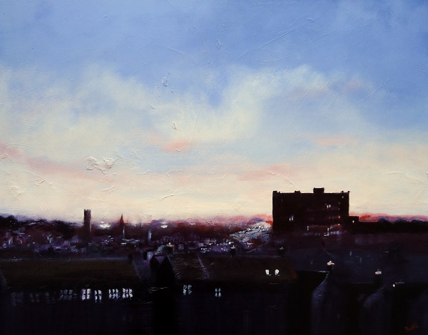 Late Evening Over Belper Sold.