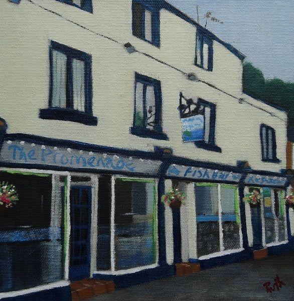 The Promendade Fish Bar, Matlock Bath, Ruth Gray