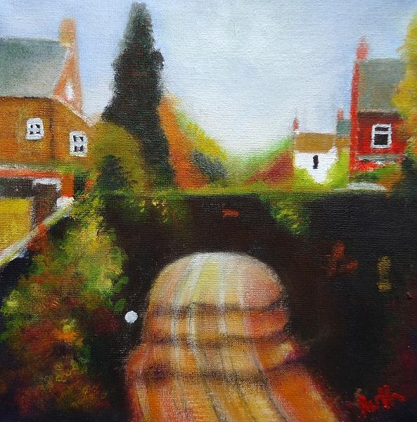 Field lane, Belper, Ruth Gray