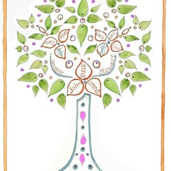 Family tree design no9