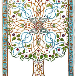 Celtic Blessing Tree