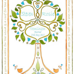 Wedding Tree Design no8